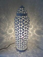 Stile marocchino Bianco Lampada Bronzo esclusivo contemporaneo Cutwork Design