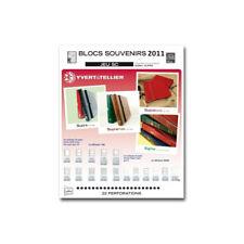 Jeux SC France blocs souvenirs 2011 avec pochettes de protection.