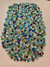 1000 Pcs Mixed Color Glass Gems, Pebbles, Mosaic Tiles, Nuggets