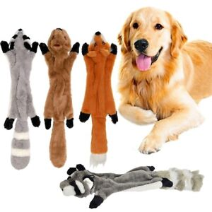 Soft Plush Squeaky Toy Durable Bite Toys Chew Interactive Puppy Dog Squeaker