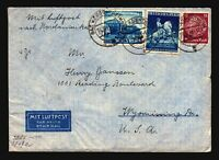Germany 1940 Censor Cover to USA / Better Issues - Z16115