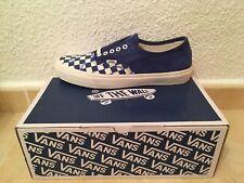 Vans Vault Authentic Blue Checked UK 10