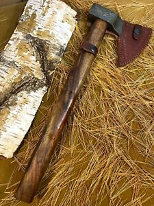 LOUIS MARTIN RARE CUSTOM DAMASCUS STEEL ART TOMAHAWK KNIFE,HATCHET, AXE,INTEGRAL