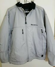 COORS LIGHT By ANTIGUA Mens Large Gray Cold Weather Water Resistant Coat Jacket