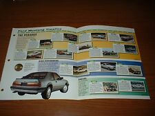 ★★1964-97 HISTORY OF THE FORD MUSTANG BROCHURE 429 SVO GT COBRA BOSS SALEEN★★