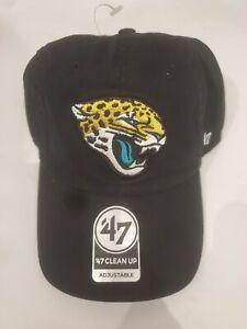 47 Jacksonville Jaguars Hat Black Adjustable NFL Brand New