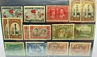 Canada Stamp Lot Faults May Be Present Great Cancels