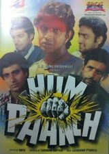 HUM PAANCH - ORIGINAL BOLLYWOOD DVD - FREE POST