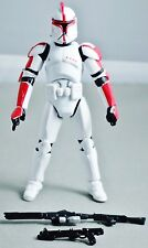 Star Wars Black Series 2013 TRU CLONE CAPTAIN DEVISS (BATTLE OF GEONOSIS) -Loose