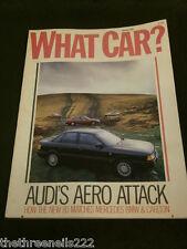 WHAT CAR? - AUDI 80 - JAN 1987