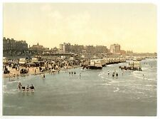 9 Victorian Views of Margate Beach Kingsgate Castle Fort Harbour Beach 9 Photos