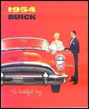 1954 Buick Dlx Brochure, Skylark Roadmaster Special