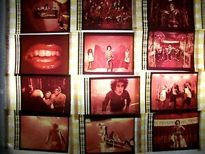 ROCKY HORROR PICTURE SHOW Film Cell Lot of 12 - compliments dvd poster movie