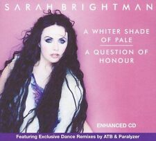 A Whiter Shade of Pale/A Question of Honour [Maxi Single] by Sarah Brightman (CD
