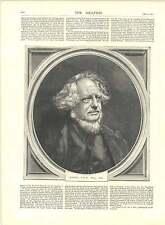 1871 GRAVURES Henry Cole Esquire CB Portrait