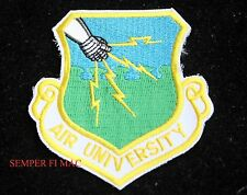 AIR UNIVERSITY AU HAT PATCH  US AIR FORCE ATC AIR EDUCATION & TRAINING COMMAND