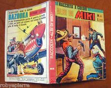Raccolta a colori albi di miki capitan n 65 editrice DARDO ORIGINALE anni '60