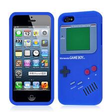 iPhone 5 Retro Game Boy Design Silicone Case Cover + Free Screen Protector