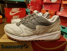 """Men's Saucony Grid 8000 """"Tan/Light Tan Athletic Fashion Casual Sneakers S70303-4"""