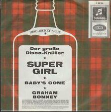 "Graham Bonney Super Girl / Baby`s Gone 1966 EMI Columbia 7"" Single"