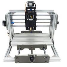 3 Axis DIY CNC Router Kit Wood & Metal Engraving PCB Milling Machine+500mw Laser