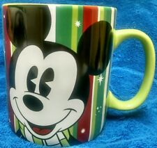 """Large Mickey Mouse Coffee Hot Coco Mug Disney Galerie 5"""" Tall"""