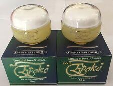 EPOKE GEL ESTRATTO al 90% DI BAVA DI LUMACA 50g SENZA PARABENI (2 conf. offerta)