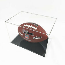 More details for american football display case - black base