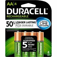 DURACELL Rechargeable, AA4, (2 packs)