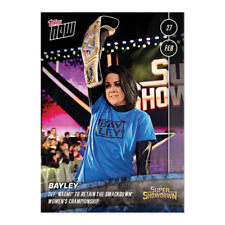 2020 TOPPS NOW WWE #10 BAYLEY SUPER SHOWDOWN (PR 83)
