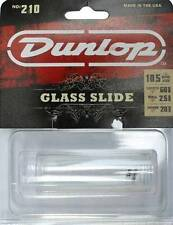 Jim Dunlop Guitar Slide 210 Glass. Fits ring size 10.5. Warmer, Thicker Tone
