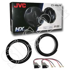 VW Lupo FOX New Beetle Lautsprecherringe 165mm+Adapter+ JVC CS-HX649 Boxen 350W