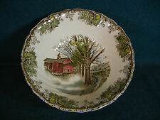 """Johnson Brothers The Friendly Village Round 8 1/8"""" Serving Bowl  - England"""