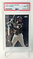 Luis Robert 2020 Topps Chrome Rookie Card RC  PSA GEM MT 10 - Combined Shipping!