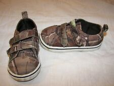 Toddler Realtree Camo Shoes - Size 5 - Eur 21