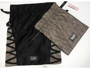 Victoria's Secret Lingerie Travel Bag Set Black New.