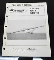 AVCO New Idea No. 196 - 6 in. Auger Elevator Owner's Manual AE-105