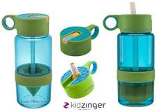 Blue Zinger Water Bottle WITH Straw Citrus Zinger Zing Anything Gym Walk Run