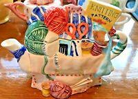 Knitting room Novelty Tea Pot