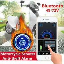 Motorcycle Anti-theft Alarm Security System Remote Control Keyless Engine Start
