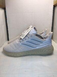 New Adidas Originals Sobakov Grey Suede Size 10 BD7565 NWT
