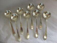 New ListingTiffany & Company Faneuil 1910 Set 8 Sterling Silver Bouillon Spoons No Mono