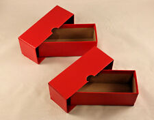 "COIN STORAGE BOX - Holds 2 x 2 COIN FLIPS + HOLDERS - 5"" LONG - 2 TOTAL"