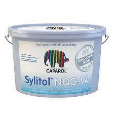 5x Caparol Sylitol NQG-W 12,5 Liter  -High-Tech-Silikatfassadenfarbe-