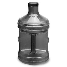 1 Gallon BPA Free Drinking Water Bottle Jug Canteen Container Alkaline Black