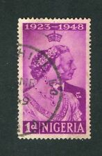 Used Postage Nigerian Stamps