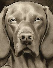 Hungarian Vizsla note cards by watercolor artist Dj Rogers