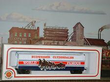 BUDWEISER ** CLYDESDALES ** CUSTOM ** 51' Box Car ** OOP ** HO Scale Train*mint