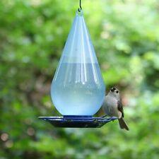 Bird Waterer Hanging Wild Birds Water Feeder Cooler Dispenser For Outdoor Garden