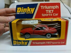 Dinky Toys 211 Triumph TR7 Red 1975